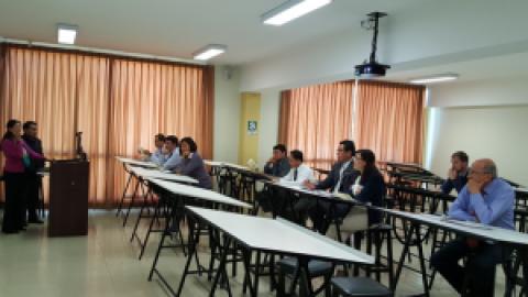 II taller informativo interno Inchipe en la Universidad Católica San Pablo