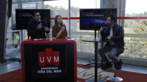 Jornada de puertas abiertas en Universidad Viña del Mar