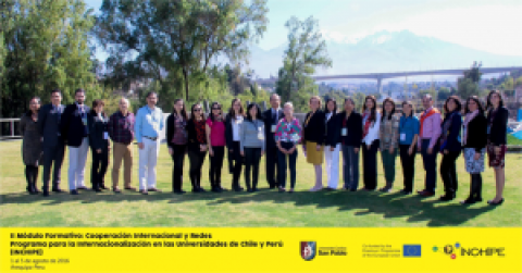 Módulo Formativo 2 Acuerdos de Cooperación Internacional y Networks
