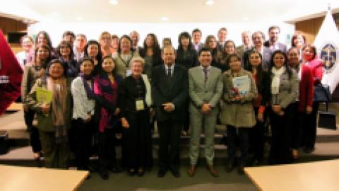 I mesa redonda nacional Perú:  Internacionalización de las universidades  ¿por qué y para qué?