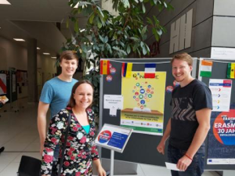INCHIPE se da a conocer en Graz durante la celebración de los 30 años de Erasmus+